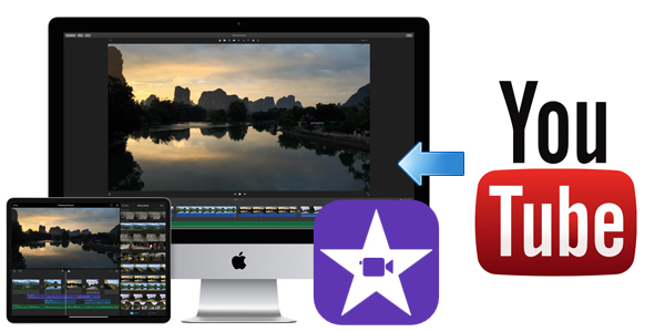 Upload YouTube video to iMovie