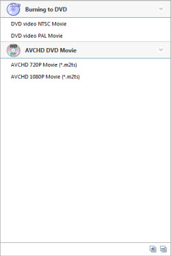 burn videos to DVD
